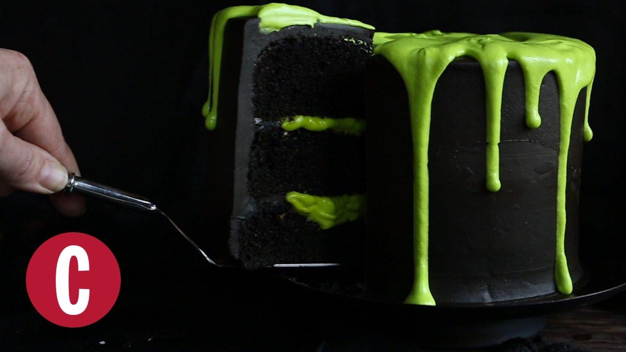 Green Sllime Birthday Cake