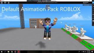 Animazione predefinita Roblox (Roblox)
