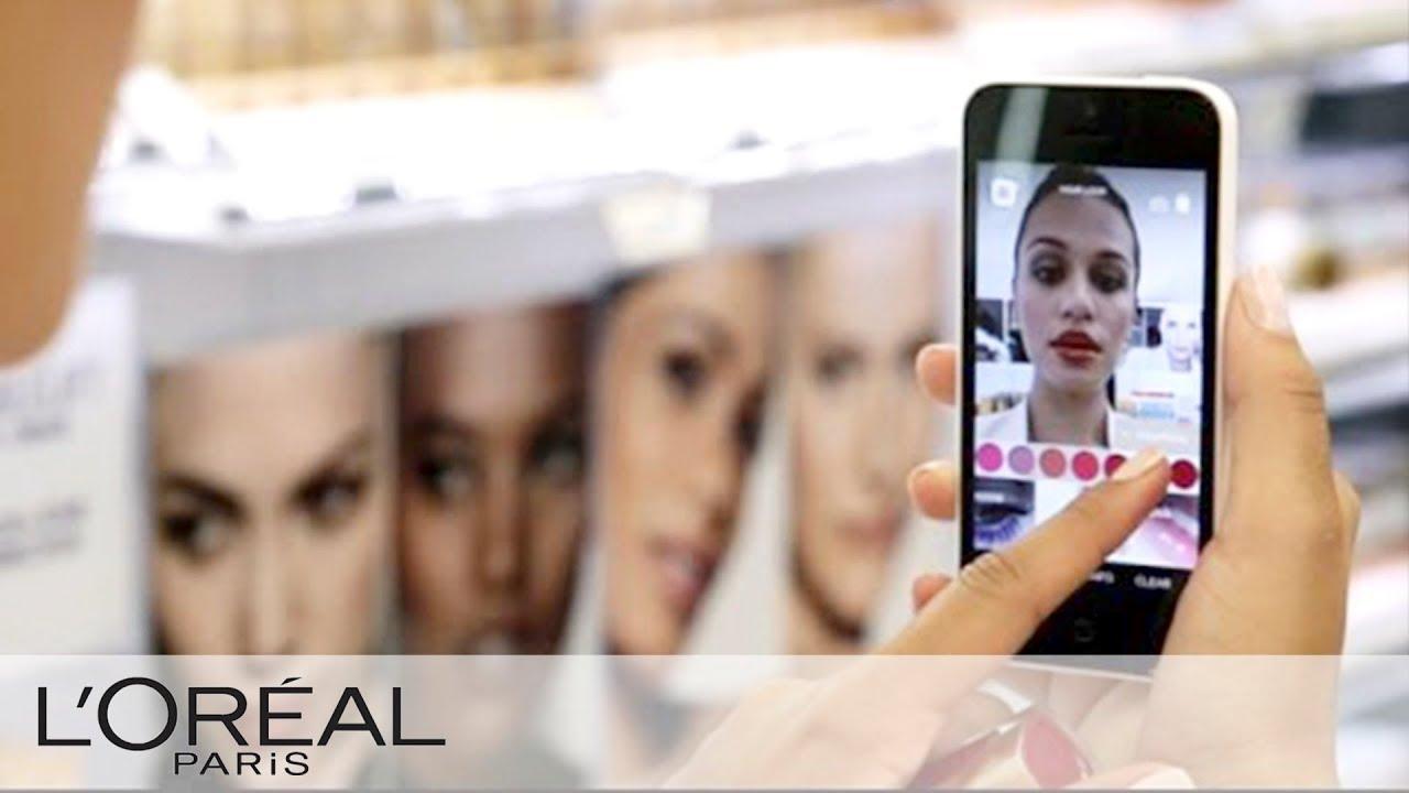 virtually try on makeup   makeup genius   l'oreal