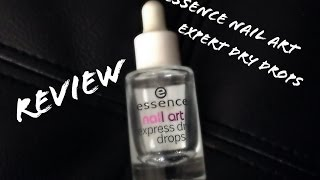 Essence Nail Art Expert Dry Drops Review