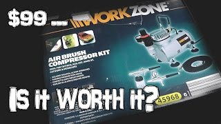 $99 Aldi Airbrush Kit - Is it worth it?