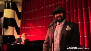 Grammy winner Gregory Porter performs