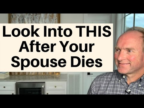 Say This ONE WORD After Your Spouse Dies