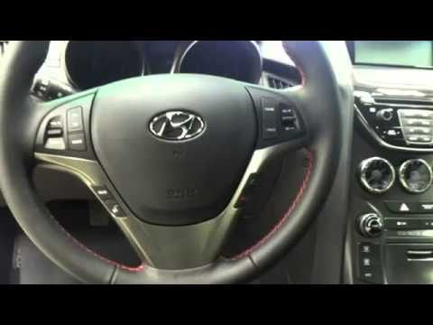 2014 hyundai genesis coupe 2 0t r spec white youtube. Black Bedroom Furniture Sets. Home Design Ideas