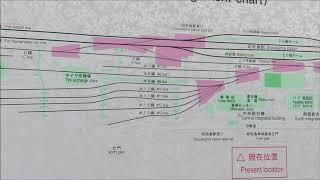 東京モノレール 昭和島車両基地案内図