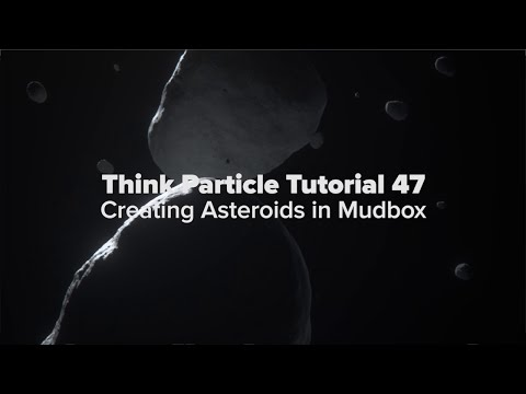 Think Particle Tutorial 47 - Creating Asteroids in Mudbox