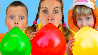 Balloon song | Nursery Rhymes & Kids Songs by iFinger