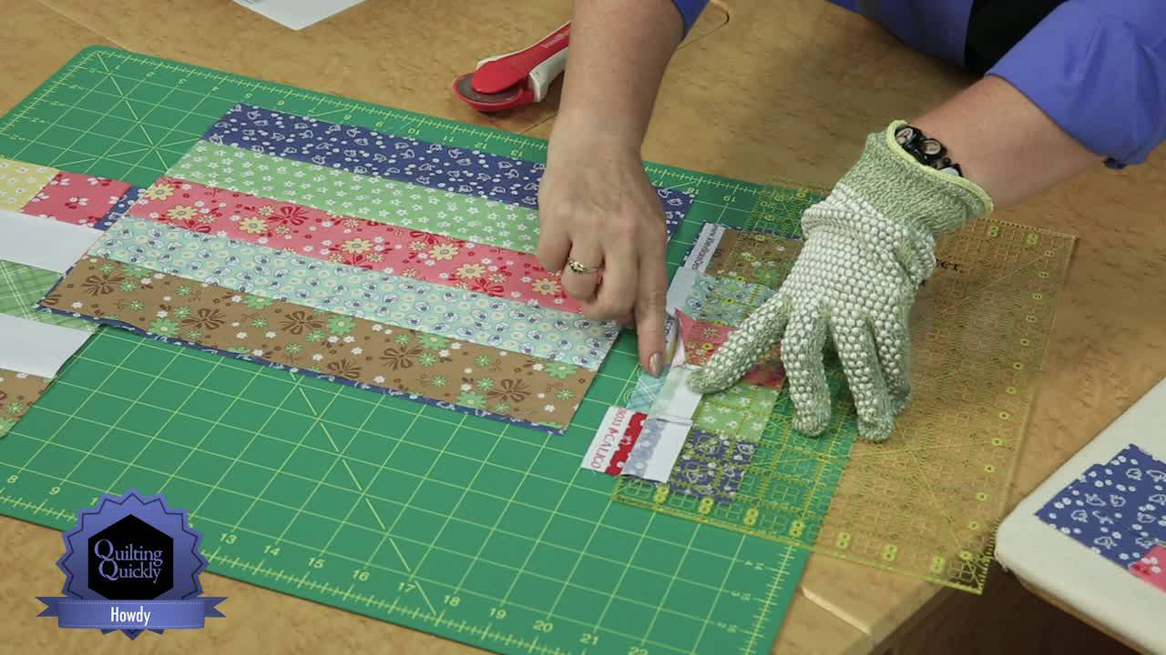 Quilting Quickly Howdy Easy Baby Quilt Youtube
