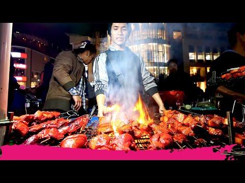 Shillong STREET FOOD Tour of Police Bazaar - Pork, Momos and Chow | Shillong, Meghalaya, India