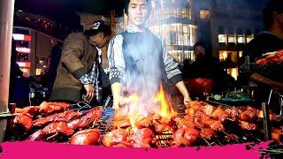 Shillong STREET FOOD Tour of Police Bazaar - Pork, Momos and Chow   Shillong, Meghalaya, India