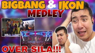 SB19 BIG BANG & IKON MEDLEY | REACTION | TAGALOG