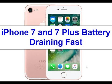 iPhone 7 and 7 Plus Battery Draining Fast All of a Sudden (Fixed)