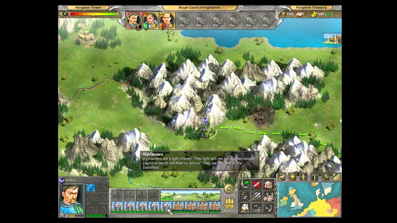 Knights of honor gameplay pc youtube knights of honor gameplay pc gumiabroncs Choice Image