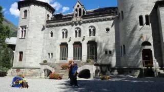viaggiare in camper, castello della regina margherita