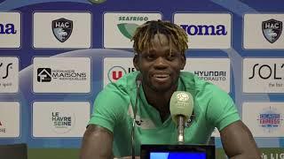 VIDEO: Après HAC - Guingamp (4-0), réaction de Jamal Thiaré