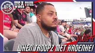 When Troopz Met Kroenke! |  AFTV USA Vlog Day 5 in Denver, Colorado