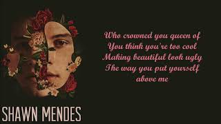 Shawn Mendes Queen (Lyrics)