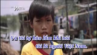 [Karaoke] Tôi Người Việt Nam - Khắc Việt | Karaoke HD Netitan