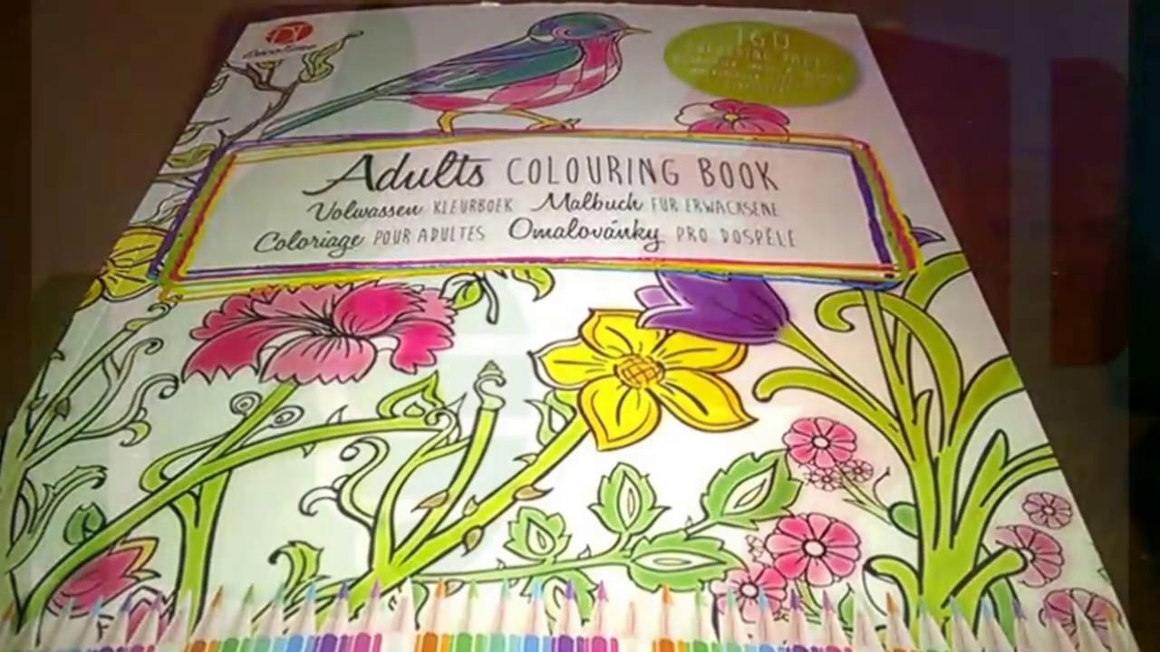 Presentation Livre Coloriage Adulte Action