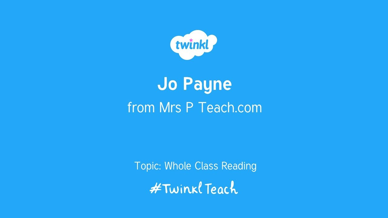 Mrs P Teach on Whole Class Reading with Twinkl