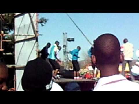 Gaborone, Botswana trade fair dancing