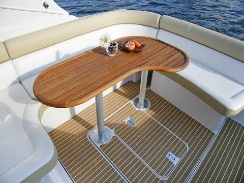 Composite pontoon boat decking material can you bevel the for Synthetic deck material