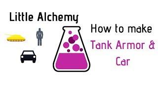 Little Alchemy-How To Mąke Tank, Armor & Car Cheats & Hints