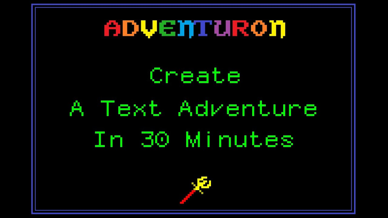 Create A Text Adventure in 30 Minutes In Your Browser - YouTube