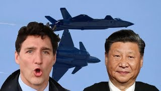 Punk Trudeau is so Weak! The China-Canada spat is only escalating - now it involves warships