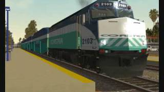 MSTS Coaster & Metrolink Commuter Railfanning