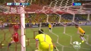 Colombia 3 - 3 Chile - Gol Caracol - Eliminatorias Brasil 2014