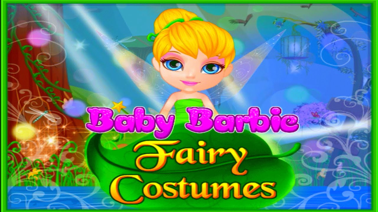 Dress up fairy games - Baby Barbie Tinkerbell Fairy Costumes Magical Dress Up Video Game For Children
