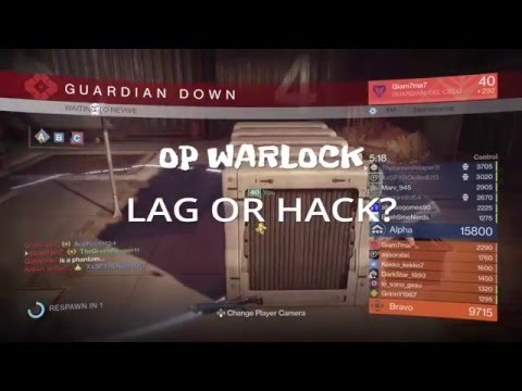 BUNGIE WHY!? - Lag or Hack? - Invisible warlock!