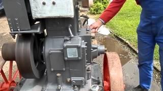 Démarrage moteur fixe ancien Cérès D1C