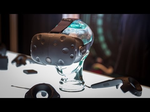 In-Depth with Steam VR and HTC Vive Pre at CES 2016 - Tested
