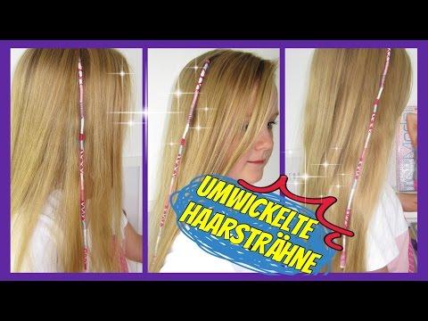 ♥ Mit Garn Bunt Umwickelte Haarsträhne ☮Urlaubshaarsträhne HAIRWRAP♥Sommerfrisur Für Mädchen | MaVie
