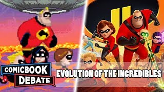 Evolution of the Incredibles  in All Media in 7 Minutes (2018)