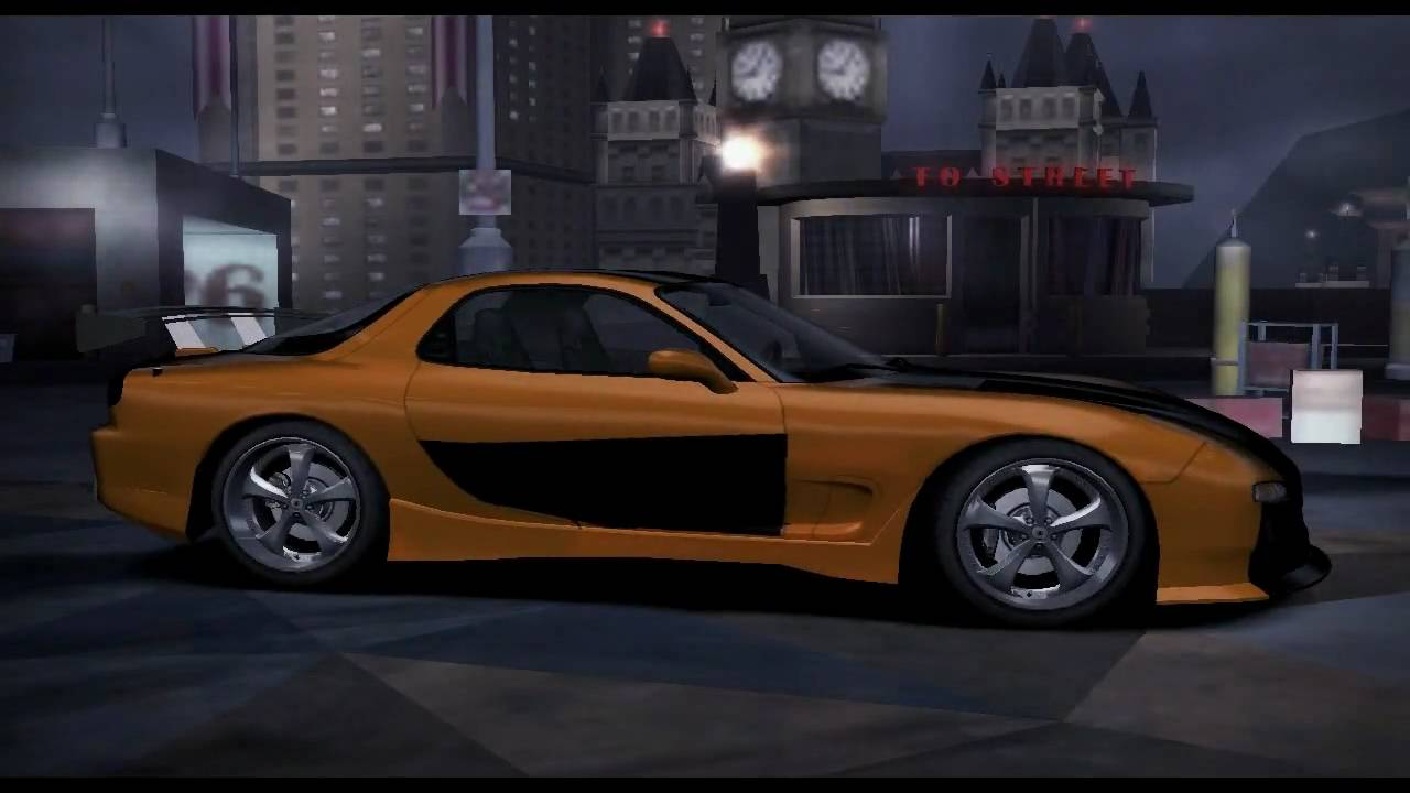 Need For Speed Carbon Tokyo Drift Cars Youtube