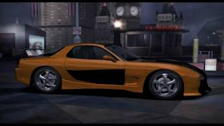 Need for Speed Carbon - Tokyo Drift Cars