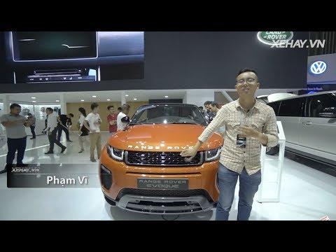 |VIMS 2017| Cận cảnh Range Rover Evoque mui trần giá từ 3,5 tỷ