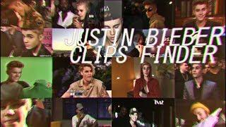 Justin Bieber Clips Finder