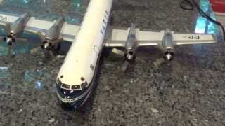 1/48 Scale VARIG Airlines Lockheed L188 Electra Model (Fiberglass and Metal)