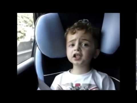 Kid singing Formidable Stromae