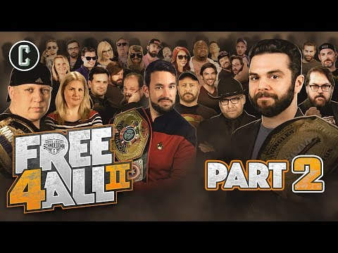 FREE 4 ALL II (Part 2) - 48 Competitors!! - Movie Trivia Schmoedown