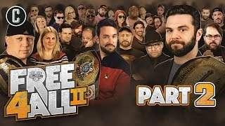 FREE 4 ALL II (Part 2) - 48 Competitors!! - Movie Trivia Schmoedown thumbnail