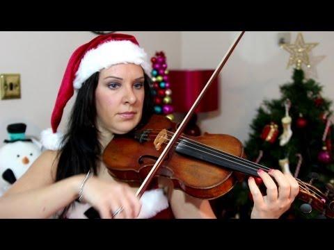 SILENT NIGHT  Easy Violin CHRISTMAS TAB Tutorial