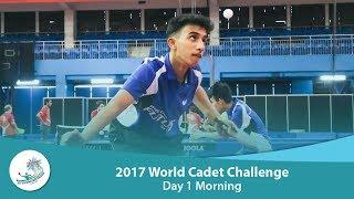 ITTF World Cadet Challenge: Day 1 Morning