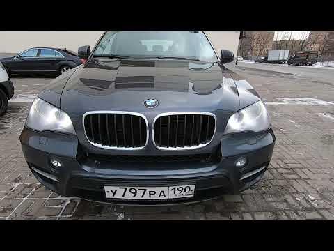 Видеообзор BMW X5 (E70) 3.0 (245л.с.) diesel 2011. Продажа в Москве