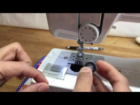 How To Insert Bobbin Into Brother Ls14 Sewing Machine Abi S Den ️🧵🌸 Youtube