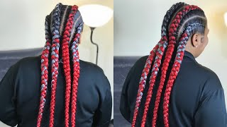 EPIC FAIL ON STITCH METHOD FEED IN BRAIDS (BEGINNER FRIENDLY TUTORIAL)